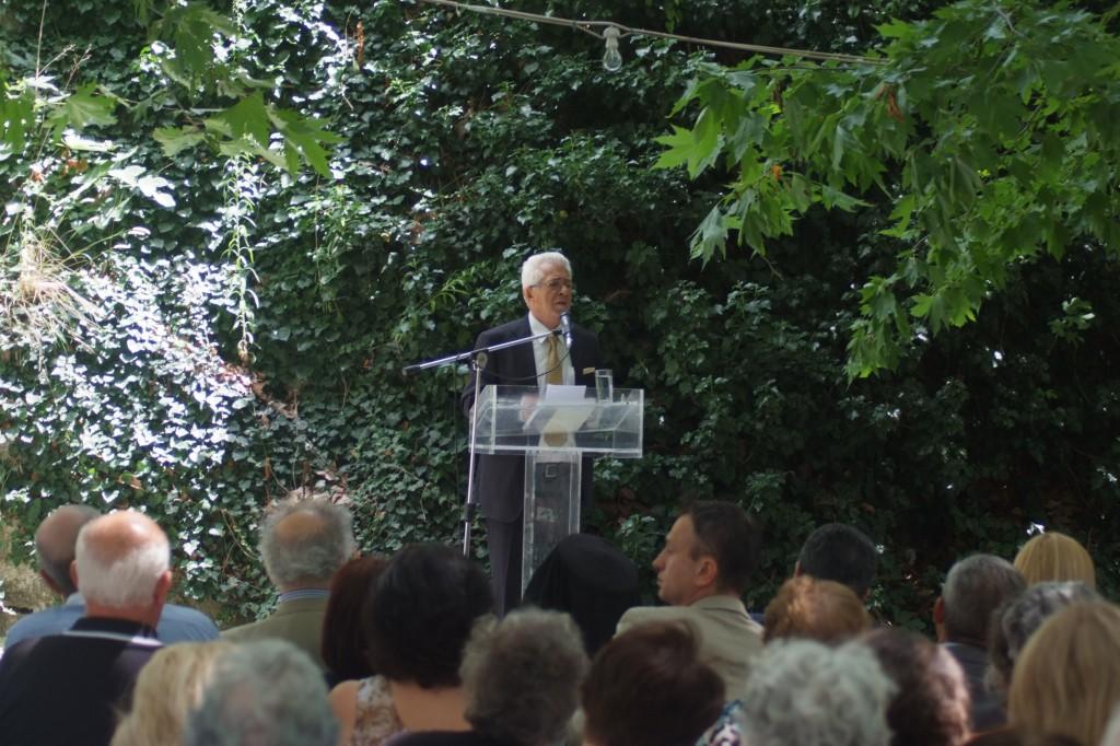 ο κος Καρύδας Απόστολος, απερχόμενος δήμαρχος του Δήμου Σιντικής
